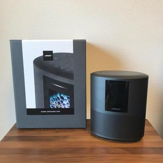 ボーズ(BOSE)のBose Home speaker 500 美品 ブラック(スピーカー)