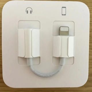 Apple - 新品 未使用 iPhone 純正 イヤホン 変換アダプター