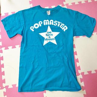 水樹奈々 POP MASTER Tシャツ ブルー イベント限定 非売品(Tシャツ)