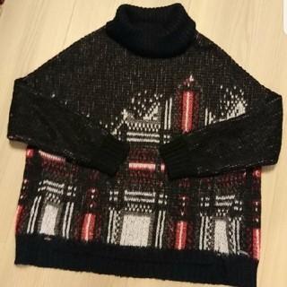 ディーゼル(DIESEL)のDIESEL ディーゼル タートル セーター ニット 美品 モヘア クール系 (ニット/セーター)