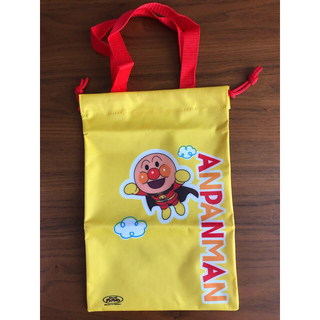 アンパンマン(アンパンマン)のアンパンマン バイキンマン シューズバッグ 上靴入れ 巾着 バッグ(シューズバッグ)