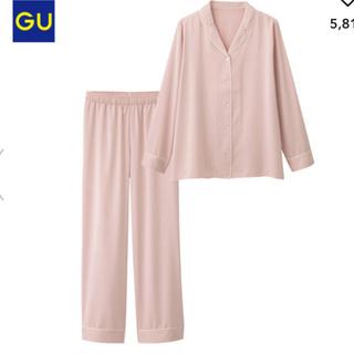 ジーユー(GU)のGU サテン パジャマ ルームウェア(パジャマ)