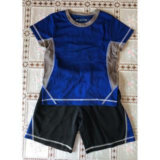 ジーユー(GU)のg.u. キッズ 半袖半ズボンセット 110(Tシャツ/カットソー)