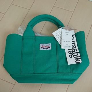 シマムラ(しまむら)の新品未使用タグ付shimamura しまむら倉敷キャンバス バッグ グリーン(トートバッグ)