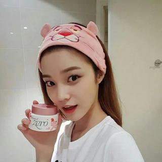 韓国ファッション  ピンクパンサー ヘアバンド  ターバン(ヘアバンド)