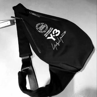 ヨウジヤマモト(Yohji Yamamoto)のYohji Yamamoto Y-3 ショルダーバッグ 黒(ショルダーバッグ)