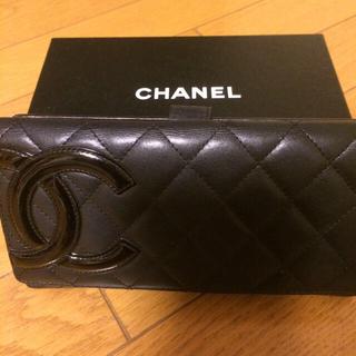 シャネル(CHANEL)のシャネルカンボンライン長財布(財布)