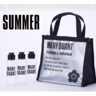 MARY QUANT - マリークワント スパバッグ ボトルセット