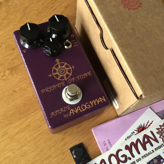 Analogman Prince of Tone Overdrive (エフェクター)