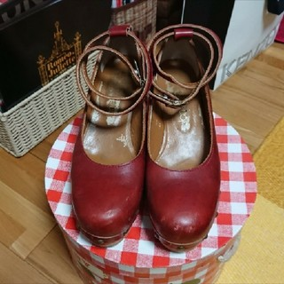 ジェーンマープル(JaneMarple)の傷あり JaneMarple 木底靴(ローファー/革靴)