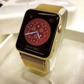 大人気カラー 金 Apple Watch series2