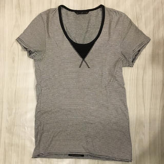 アトウ(ato)のato メンズ ボーダー Tシャツ(Tシャツ/カットソー(半袖/袖なし))