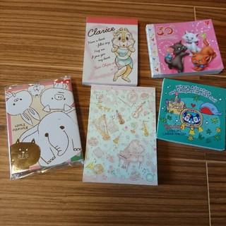 ディズニー(Disney)のディズニー たけいみき メモ パタパタ付箋 30周年 (ノート/メモ帳/ふせん)