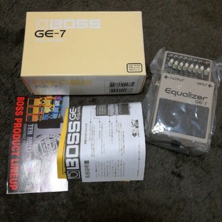 BOSS  GE-7  equalizer(エフェクター)