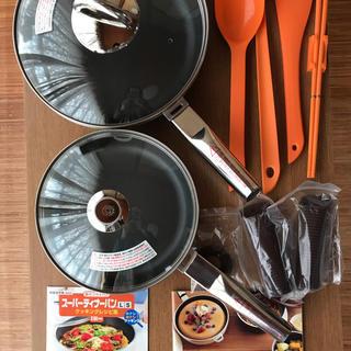 アサヒケイキンゾク(アサヒ軽金属)のアサヒ軽金属  ディナーパン  セット(鍋/フライパン)