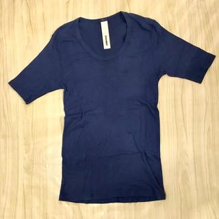 アタッチメント(ATTACHIMENT)のアタッチメント 半袖 カットソー ブルー(Tシャツ/カットソー(七分/長袖))