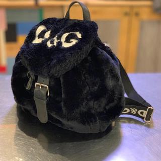 ドルチェアンドガッバーナ(DOLCE&GABBANA)のD&G VINTAGE FUR BAG(リュック/バックパック)