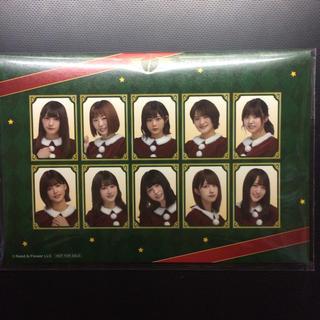 欅坂46クリスマスカード(女性アイドル)