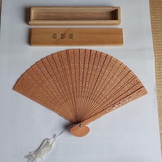 扇子 木製(和装小物)