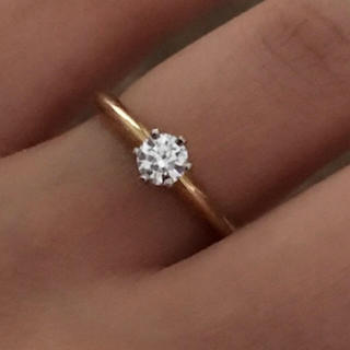 ティファニー(Tiffany & Co.)の☆*:.【新品】.:*☆ Tiffany ❤︎ 0.31ct ダイアモンドリング(リング(指輪))