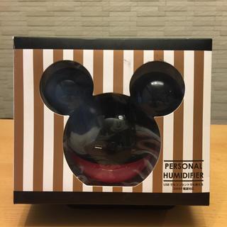 Disney - ディズニーパーソナル卓上加湿器 ブラック/レッド