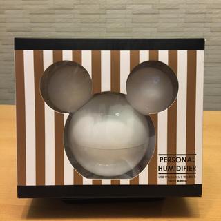 ディズニー(Disney)のディズニーパーソナル卓上加湿器 ホワイト(加湿器/除湿機)