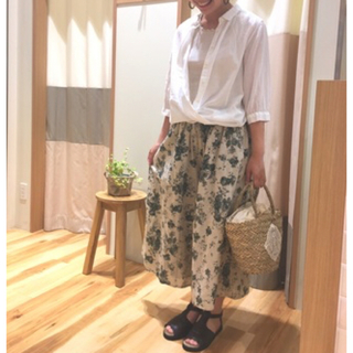 サマンサモスモス(SM2)のjunko様専用!*SM2*花柄プリントガウチョパンツ&スカート(キュロット)