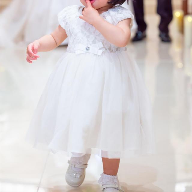 2a5a2edd0b8c2 motherways(マザウェイズ)の結婚式 ベビー ドレス 靴 パニエ セット キッズ ベビー