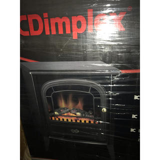 ディンプレックス 電気暖炉 オプティフレーム アークリー ブラック AKL12J(電気ヒーター)