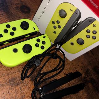 ニンテンドースイッチ(Nintendo Switch)のNintendo Switch Joy-Con スイッチ ジョイコン イエロー (家庭用ゲーム本体)