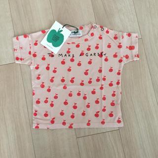 こども ビームス - Bobochoses 19ss りんご 総柄 半袖 tシャツ 新品