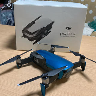 DJI MAVIC AIR FLY MORE COMBO バッテリー4本!(航空機)