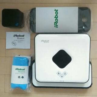 アイロボット(iRobot)のブラーバ380j(掃除機)