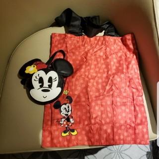 ディズニー(Disney)のエコバッグ ミニー 上海 パスケース(エコバッグ)