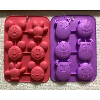 ディズニー(Disney)のダイソー ディズニーシリコンモールド ケーキ型 チョコレート型(調理道具/製菓道具)