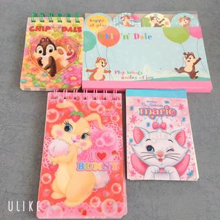 ディズニー(Disney)のディズニー メモ帳セット(ノート/メモ帳/ふせん)