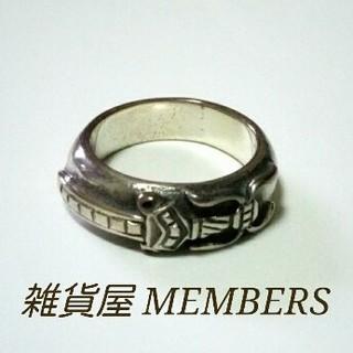 送料無料20号クロムシルバー928ダガースタンプリング指輪値下クロムハーツ好きに(リング(指輪))