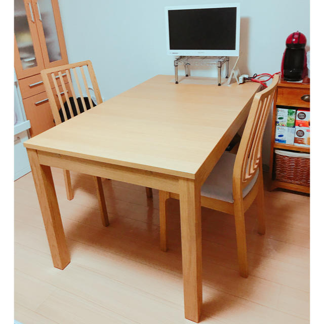 Ikea ダイニングテーブル チェア の通販 By Miiis Shopイケアならラクマ
