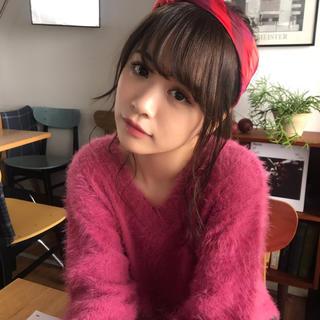シマムラ(しまむら)の新品 ♡ ゆうこす着用 もてシャギー ♡(ニット/セーター)