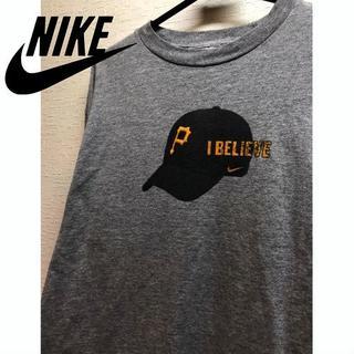 ナイキ(NIKE)のMLB ピッツバーグ・パイレーツ 長袖Tシャツ ナイキ(Tシャツ/カットソー(七分/長袖))