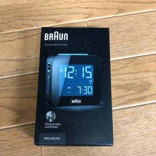ブラウン(BRAUN)の新品未使用   brown  置き時計(置時計)