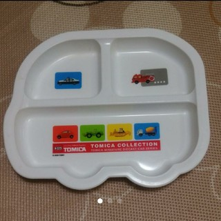 タカラトミー(Takara Tomy)のトミカ/ランチプレート/子供/皿(プレート/茶碗)