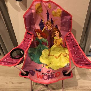 Disney - ディズニー プリンセス 折りたたみ アームチェア