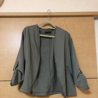 ドゥドゥ(DouDou)のジャケット(ノーカラージャケット)