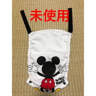 ニシマツヤ(西松屋)のミッキー 抱っこひもフードカバー 未使用品(抱っこひも/おんぶひも)