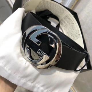 グッチ(Gucci)のグッチ 411924 CWC1N GGシマ シグネチャー ベルト Black(ベルト)