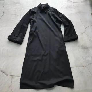 ヨウジヤマモト(Yohji Yamamoto)のyohji yamamoto 17aw 無地ギャバチャンパオコート(テーラードジャケット)