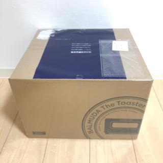 バルミューダ(BALMUDA)の新品未開封 保証シール付き バルミューダ トースター ブラック ②(調理機器)