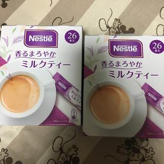 ネスレ(Nestle)のミルクティ 2箱 52本(茶)