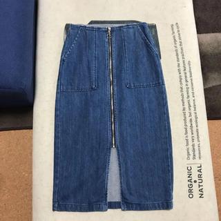 GU - GU デニム スカート